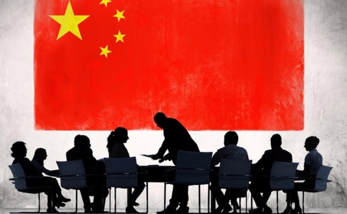 USA e Cina foto banciare cinese
