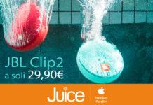 Da Juice lo speaker impermeabile JBL Clip 2 a soli 29,90 euro