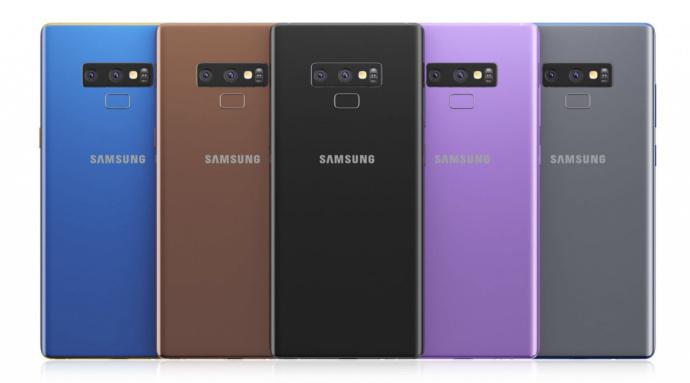 E' questo Galaxy Note 9?