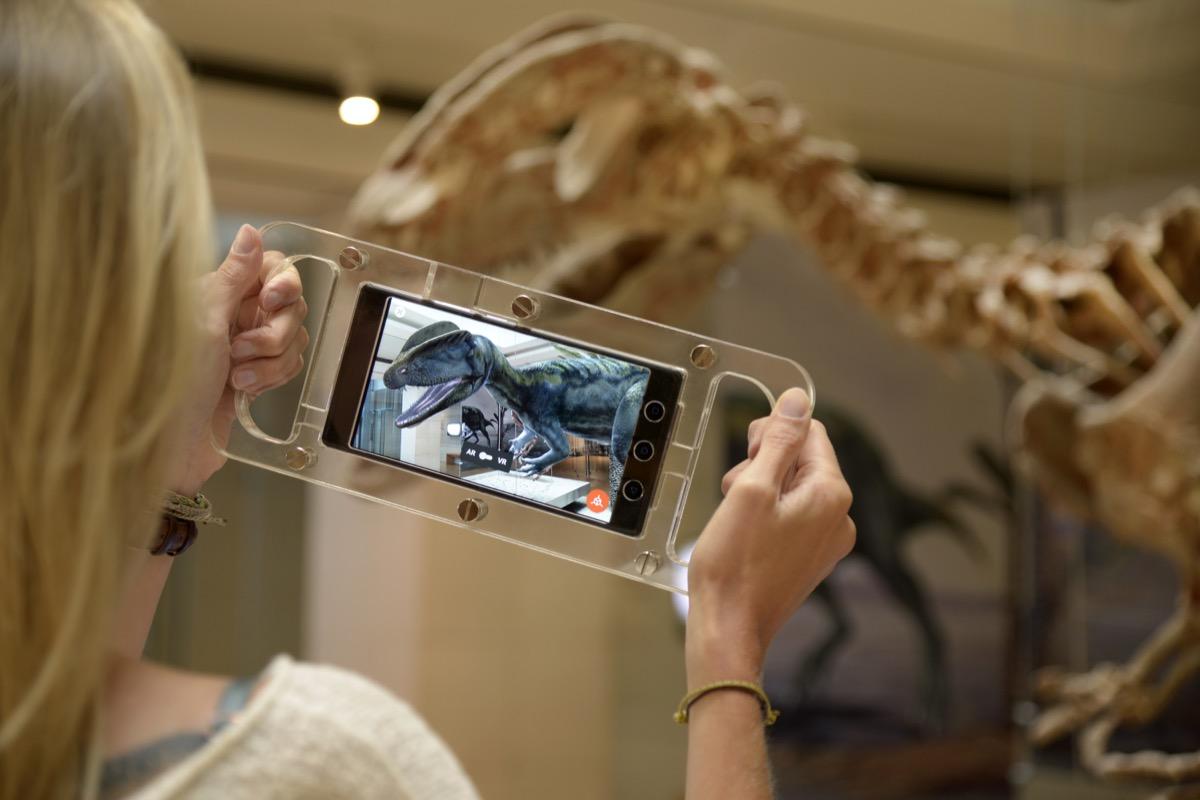 Al museo di Trento i dinosauri prendono vita con la Realtà Aumentata
