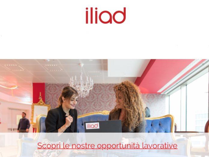 iliad Italia cresce, cerca personale per assistenza clienti e addetti ai negozi