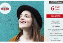Nuova offerta Iliad: 6,99 euro per minuti ed SMS illimitati e 40 GB in 4G+