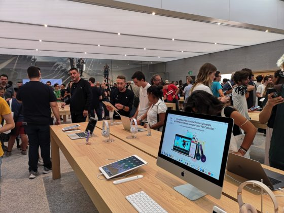 Apple Piazza Liberty: lo store