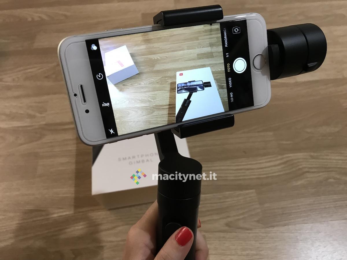 Recensione Yi Gimbal per smartphone: ottimo, con l'app da migliorare