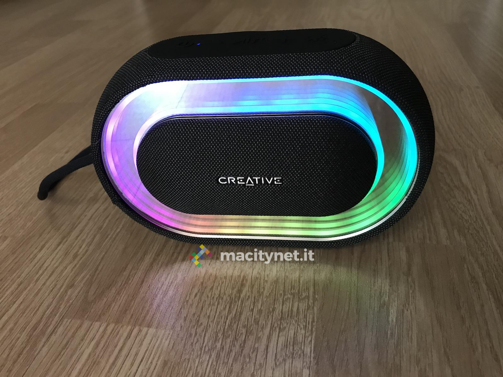 Recensione Creative Halo, l'altoparlante tutto da vedere