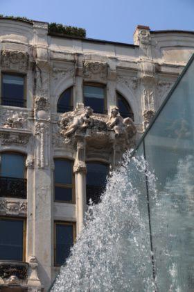 Apple Piazza Liberty: l'architettura