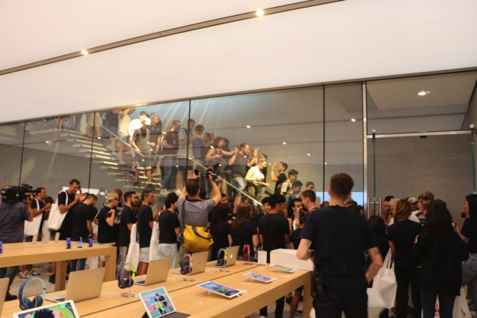 Apple Piazza Liberty: lo store