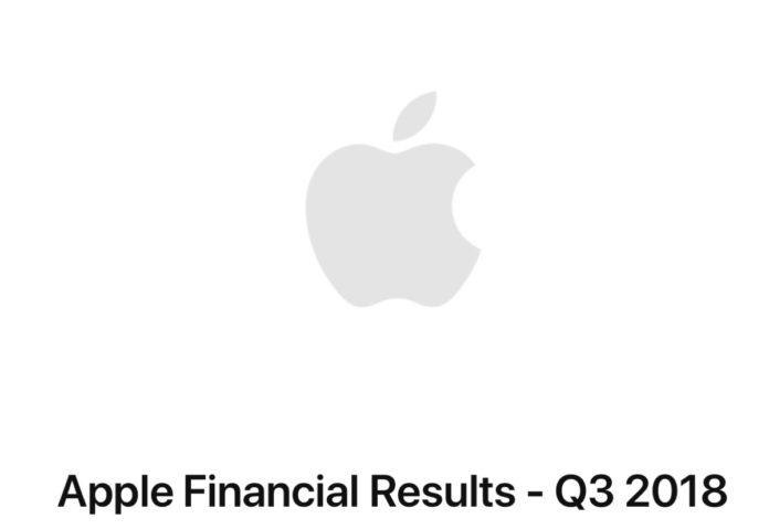 Risultati Apple terzo trimestre 2018, domani scatta l'attesa dei nuovi iPhone