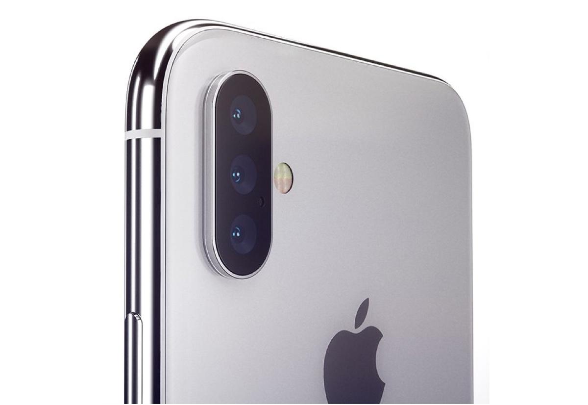 iPhone 2019 con tripla camera per zoom 3x, rilevamento 3D e realtà aumentata