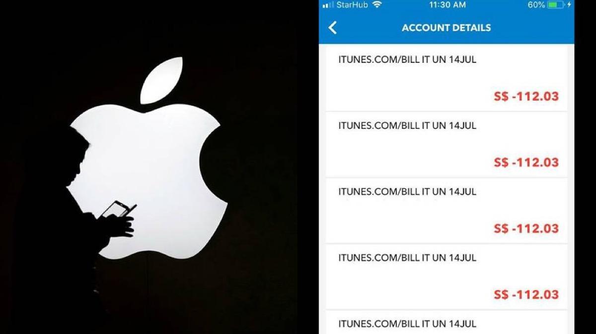 Frodi con account iTunes falsi a Singapore, Apple indaga