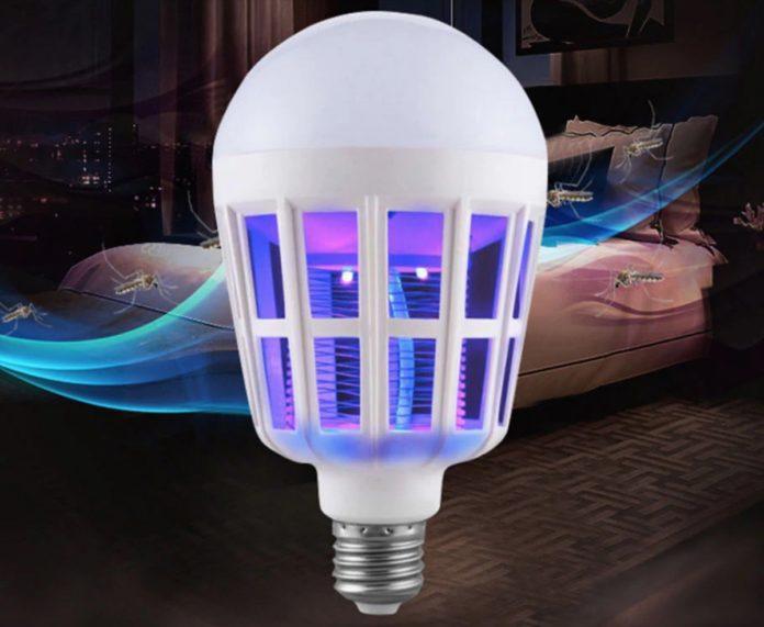 Lampadina LED 9W con luce anti-zanzare in offerta a soli 4 euro