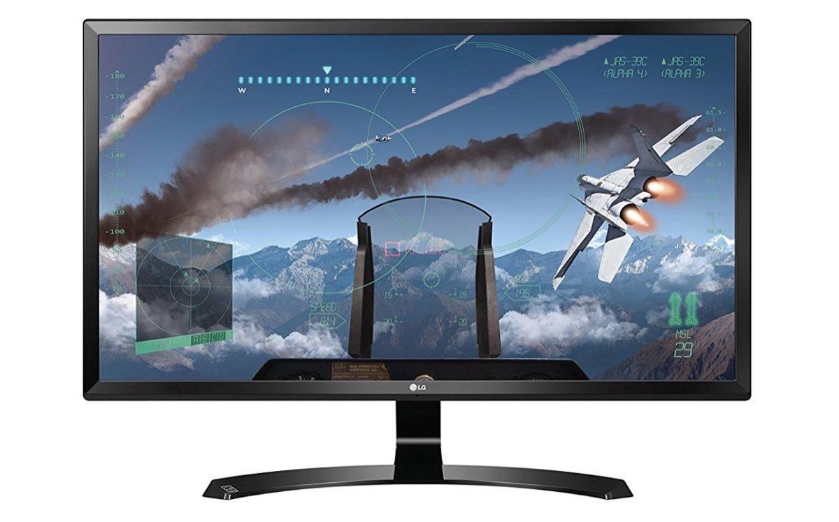 LG 24UD58, tra i migliori monitor 4K per gaming e grafica