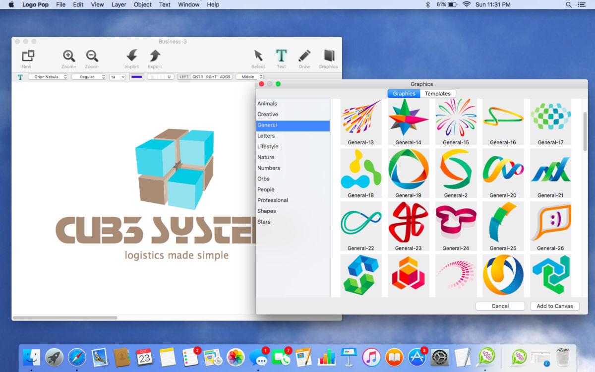 Disegnare un logo con LogoOP