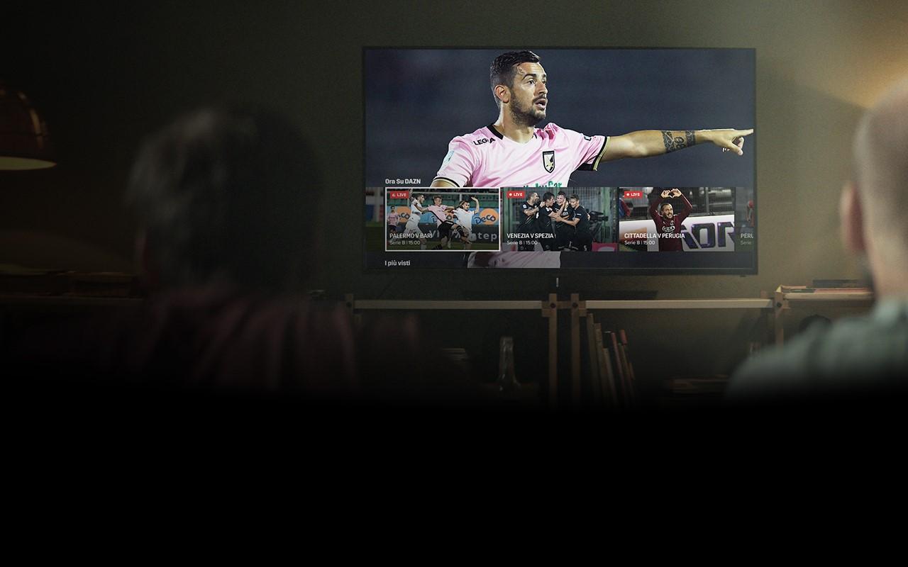 DAZN, dopo la Serie A acquisisce tutti i diritti per le partite in streaming di Serie B