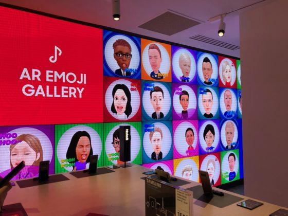 Le Emoji personalizzate che è possiible creare con il Galaxy S9