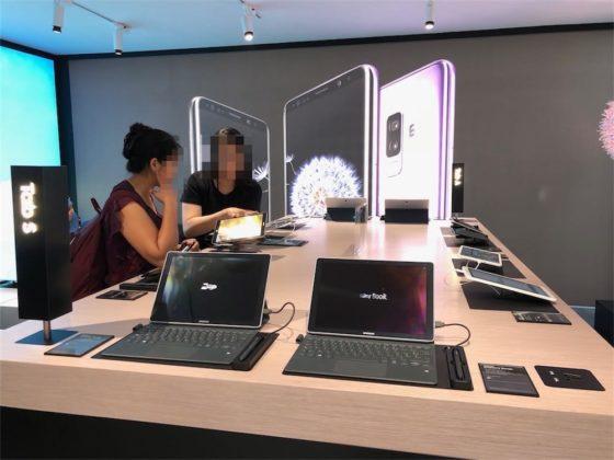 Lo spazio dedicato a tablet e sistemi ibridi