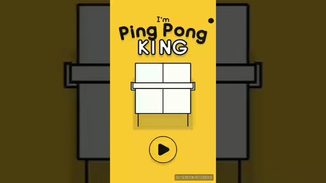 I 39 m ping pong king il miglior gioco di tennis tavolo stilizzato in app store - Forum tennis tavolo toscano ...