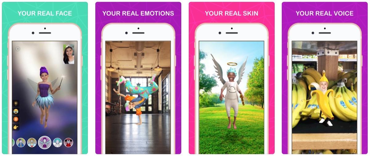 Avatar AR con Meo, la prima app iOS che usa il Real Avatar SDK