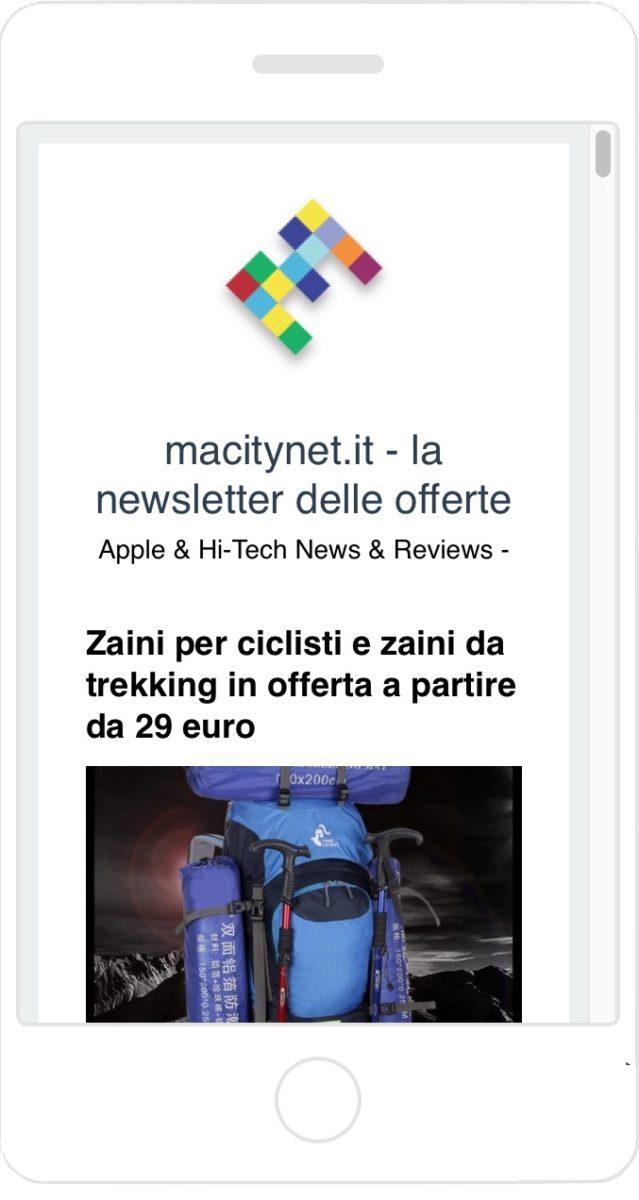 Arrivano il canale telegram e la newsletter per seguire tutte le offerte di Macitynet
