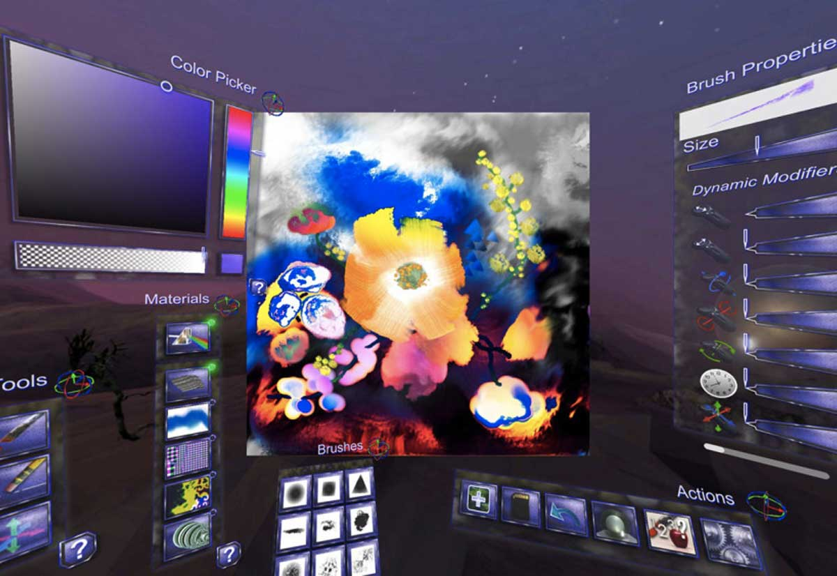 Pittura Realtà Virtuale