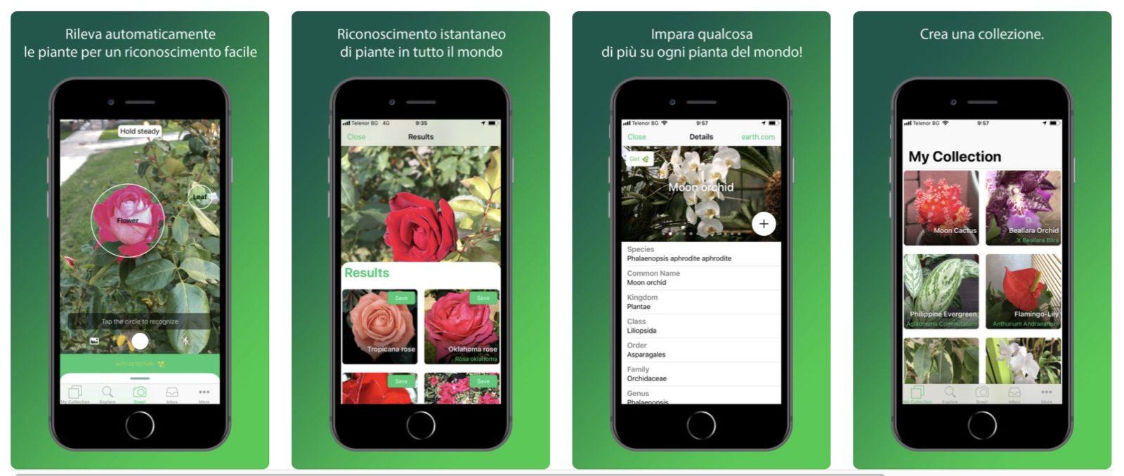 PlantSnap identifica le piante con una foto da iPhone e iPad