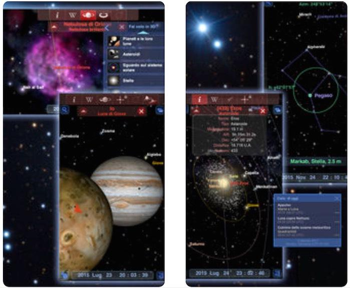 Redshift, l'app più completa e spettacolare per esplorare il cosmo su Mac e iOS