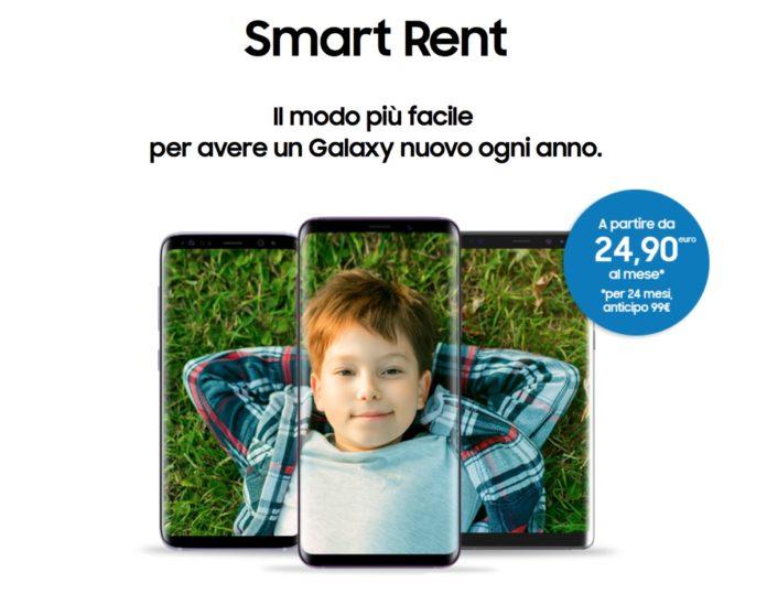 Samsung Smart Rent, il noleggio per avere un Galaxy nuovo ogni anno