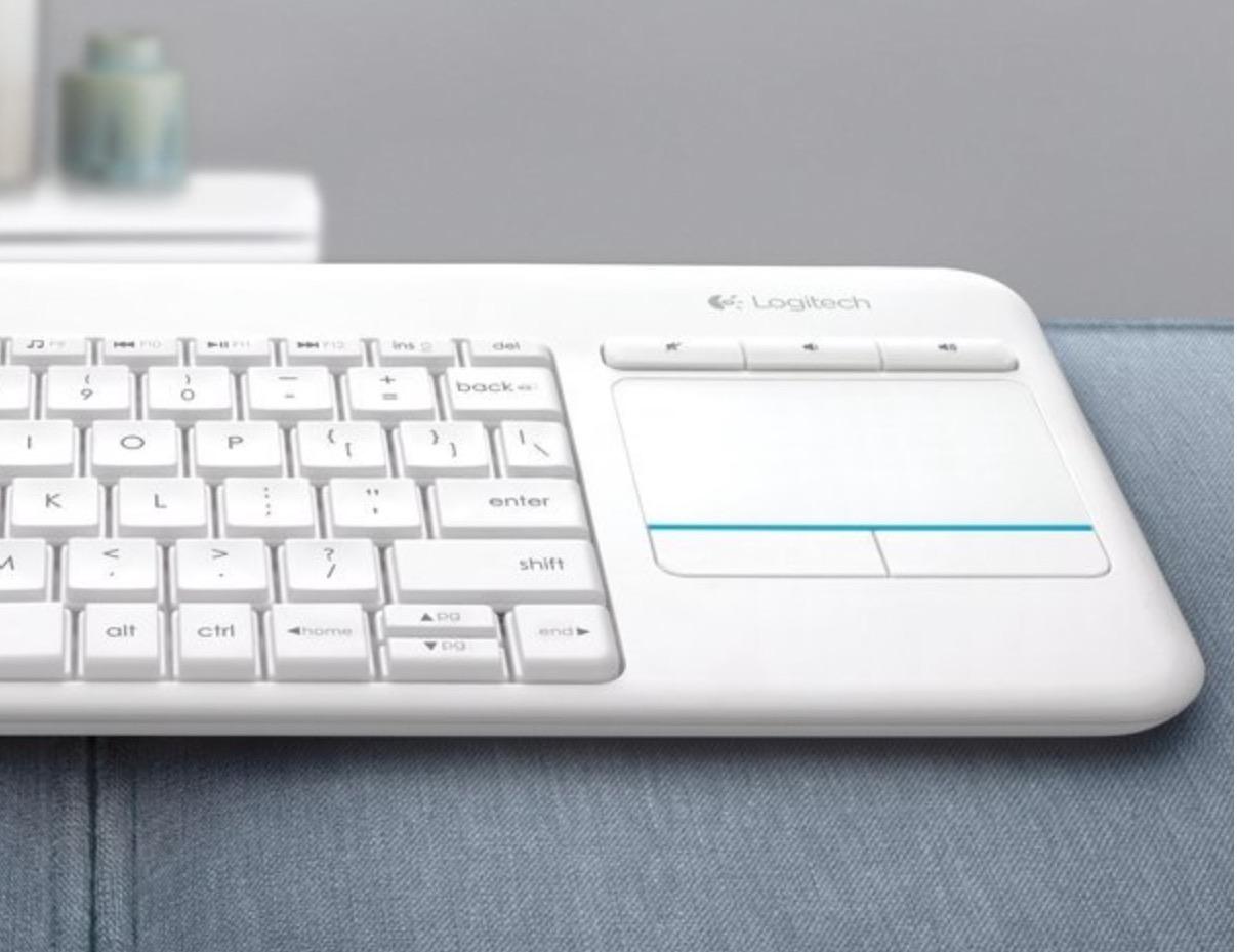 Prime Day: solo 24,99 € per Logitech K400 Plus, la tastiera