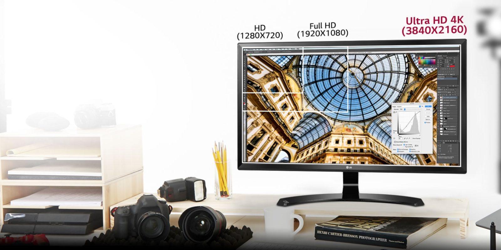 LG 24UD58, tra i migliori monitor 4K per gaming e grafica a prezzo da urlo