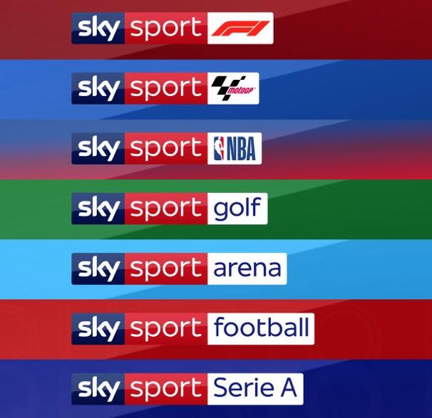 Arriva il nuovo Sky Sport, 9 canali dedicati all osport totalmente rinnovati
