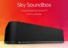 A settembre arriva in Italia Sky Soundbox by Devialet, la soundbar per Sky Q