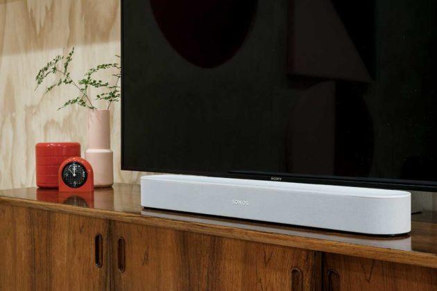 In vendita Sonos Beam, la versatile soundbar per la TV e la musica con supporto AirPlay 2