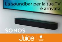 Da Juice arriva Sonos Beam, la soundbar tutto-in-uno per il salotto