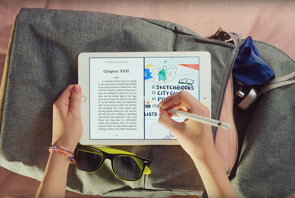 iPad 2018 è la star di quattro nuovi spot Apple da 15 secondi