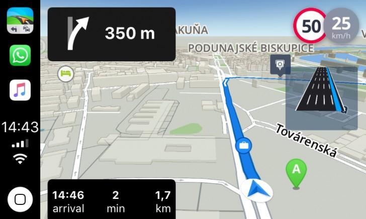 Sygic su CarPlay di Apple come primo navigatore offline