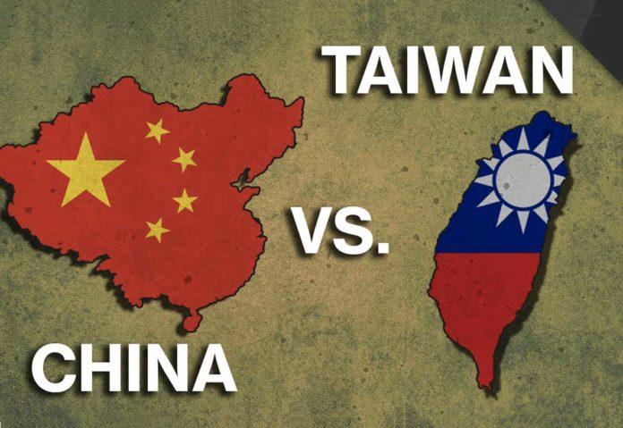 Cina vs Taiwan
