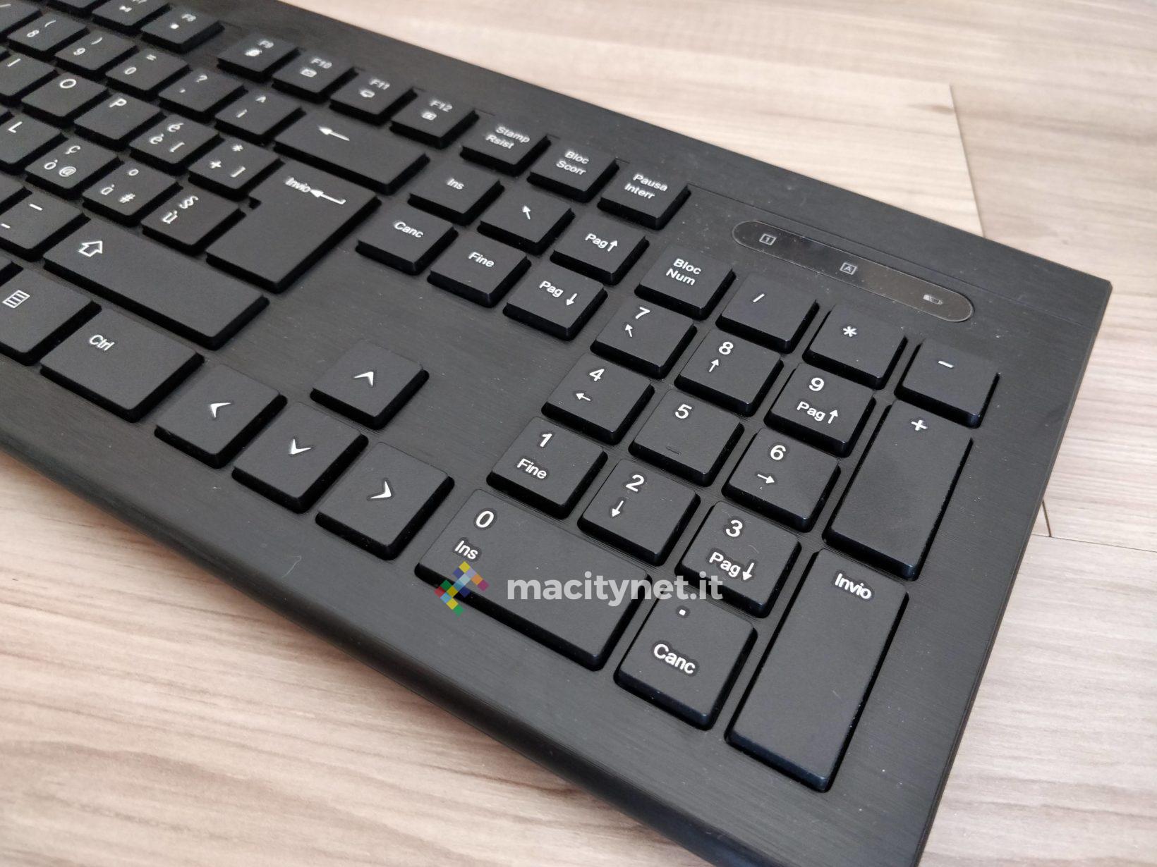 Recensione tastiera e mouse wireless Topolek, giusto prezzo