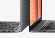 Porte Thunderbolt senza limiti sui nuovi MacBook Pro 13'' Touch Bar
