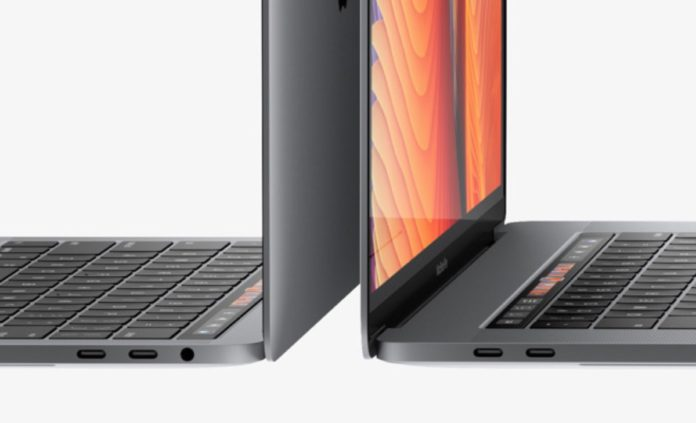 Porte Thunderbolt senza limiti sui nuovi MacBook Pro 13'' Touch Bar
