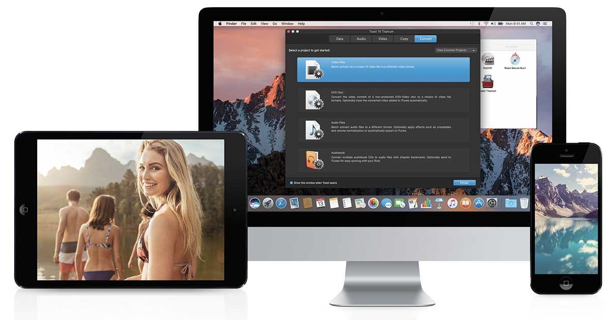 Roxio Toast 17 per Mac offre il MultiCam editing e nuove funzionalità per creare filmati
