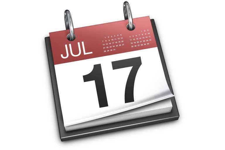 Calendario Icona.17 Luglio La Misteriosa Data Nell Icona Del Calendario Di