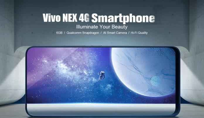 Vivo NEX, il primo vero tutto schermo si preordina in versione globale a 620 euro