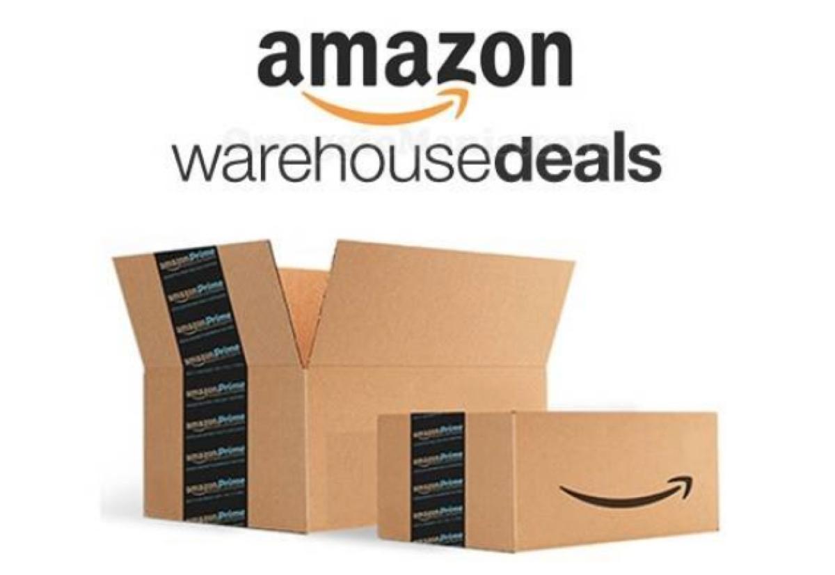 Amazon Warehouse, per pochi giorni sconto speciale del 20%