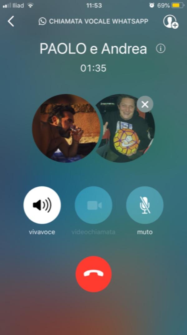 WhatsApp attiva chiamate e videochiamate di gruppo fino a 4 persone