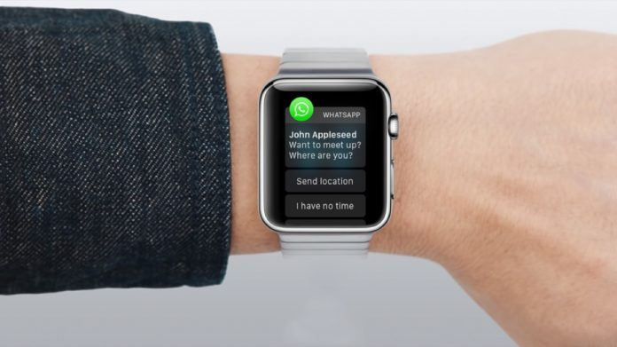 WhatsApp per Apple Watch con l'app WatchMsg