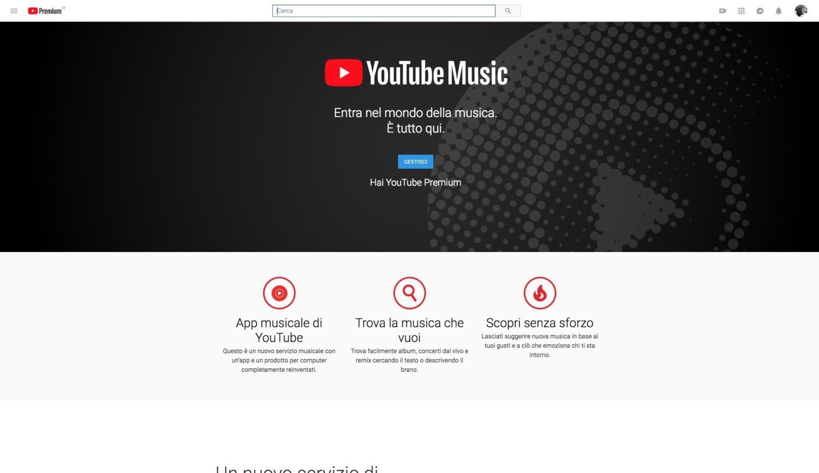 YouTube Music in prova, ecco perché dà filo da torcere a