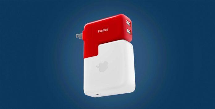 Con PlugBug Duo il caricatore MacBook doppiamente utile