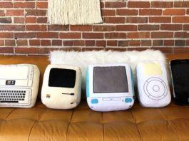 Ecco i cuscini per i nostalgici Apple