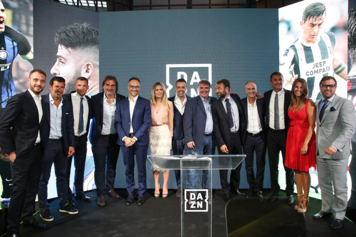 Arriva DAZN in Italia: un mese gratuito per provare le prime partite di serie A