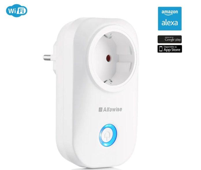 Alfawise WIFI, la presa smart compatibile con iOS, Android, Google Home e Alexa